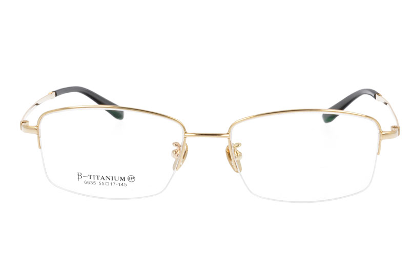 Pure Titanium Optical Eyeglasses  Frame