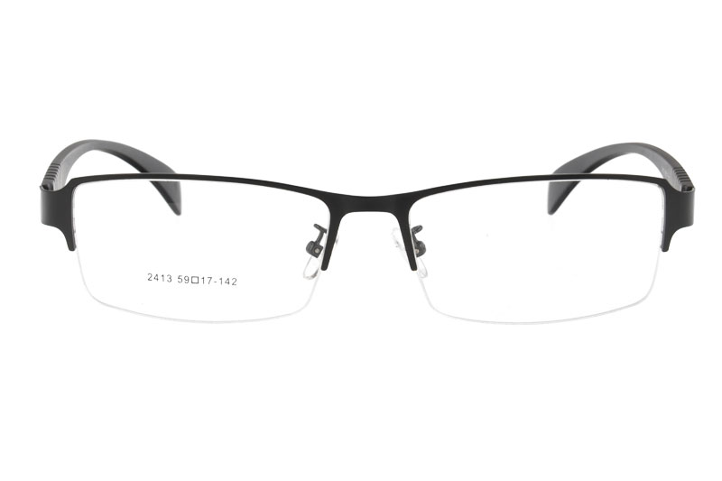 Metal eyeglasses RX optical frames myopia eyewear