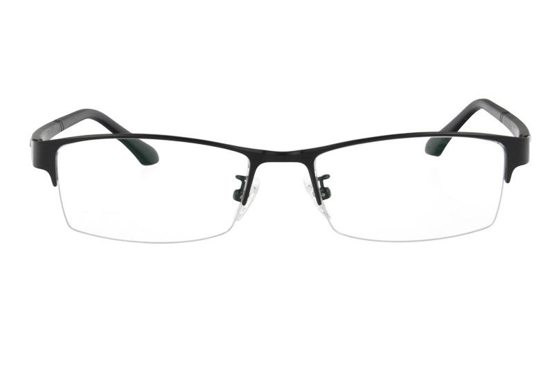 Metal eyeglasses with ultem temples  Rectangle  Eyeglasses