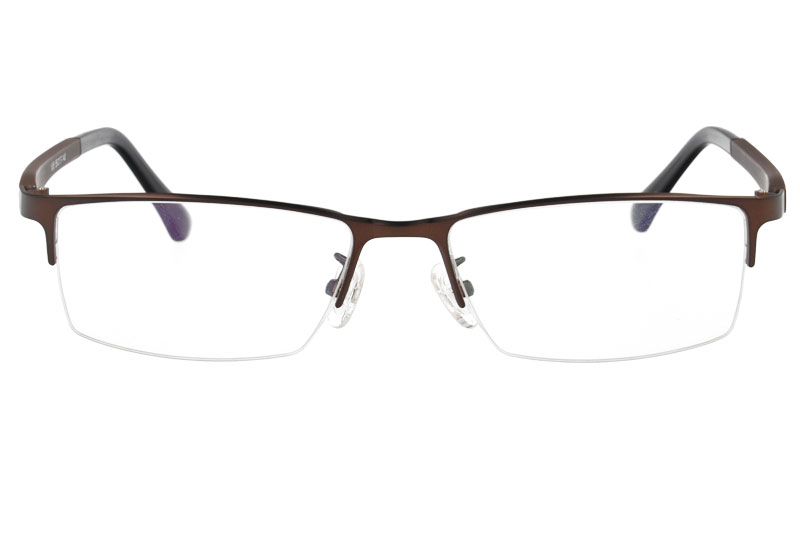 Metal optical glasses frame with ultem temples Eyewear