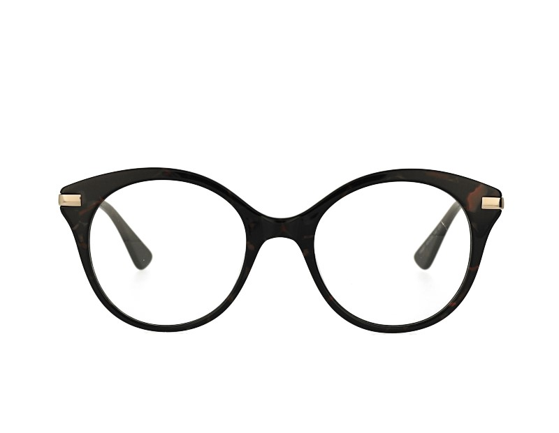 Cat eye Acetate and stainless steel combination