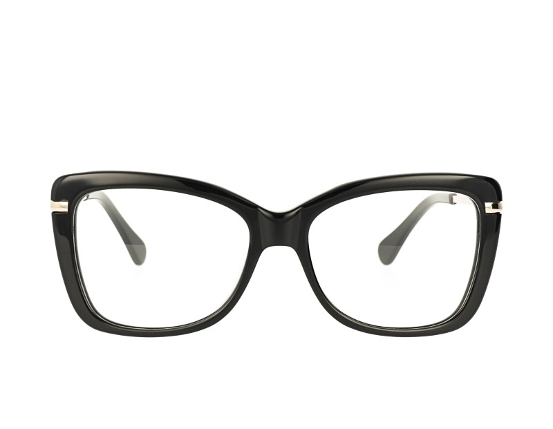 butterfly acetate frame metal temple prescription spectacles eyeglasses