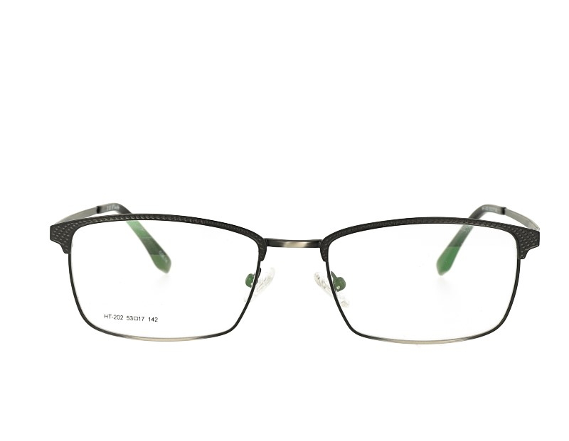 Full rim metal men eyewear eyeglasses