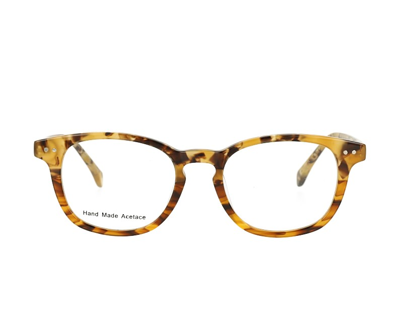 Square Unisex Acetate Optical Frames