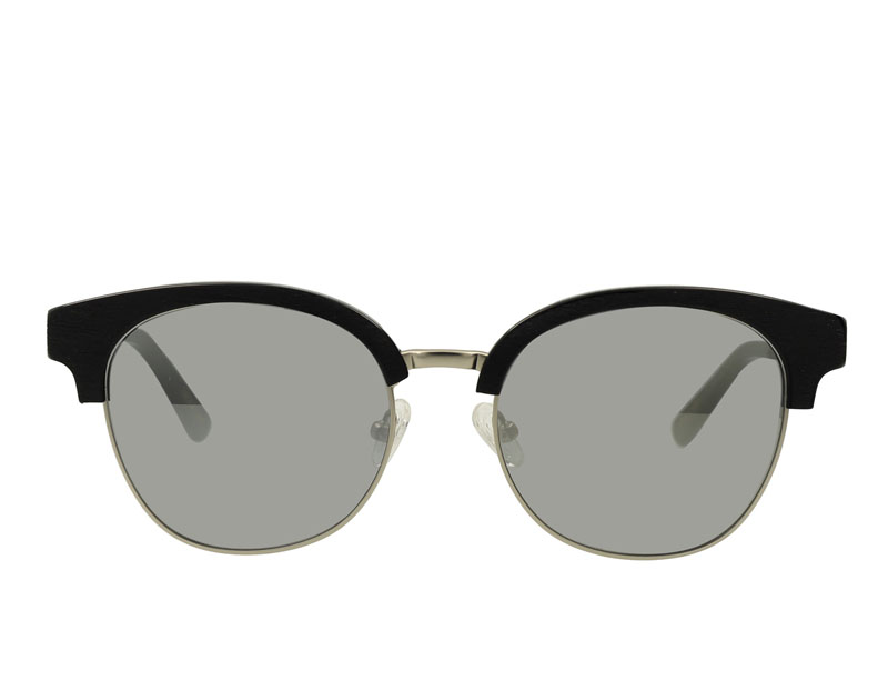 Vintage Combination Acetate and Stainless Steel Sunglasses