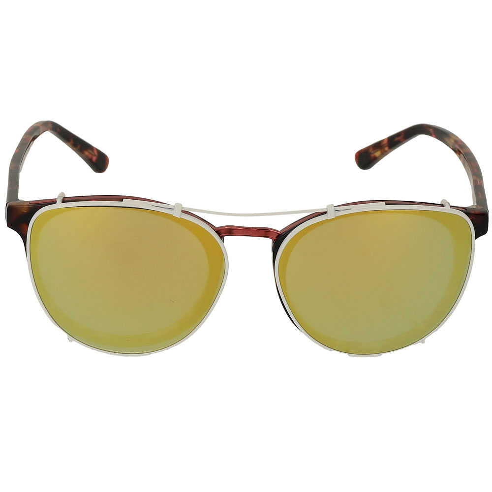 Polarized Clip On Sunglasses Men Women Mirror Lens