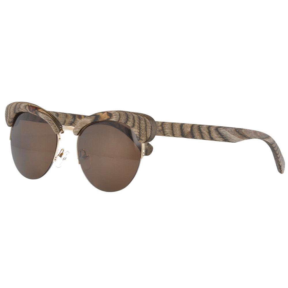 100% nature wood sunglasses sunshade 100% UVB UVA