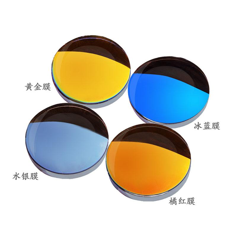 1.499 CR39 Mirror Polarized Sunglasses UV400 Lens