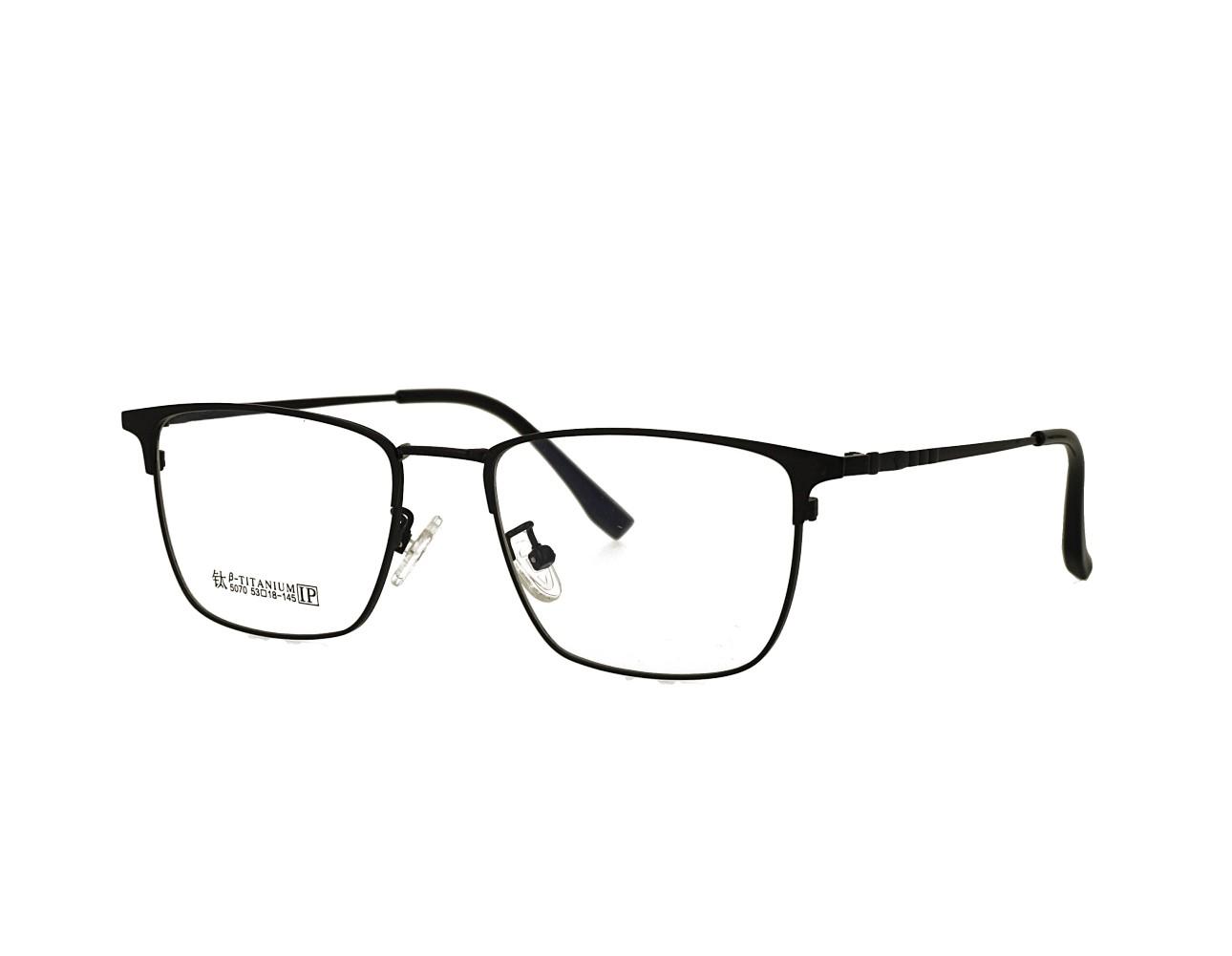 53 size Mans Full Rim Optical frame Stainless Steal Eyeglasses Manufacturer