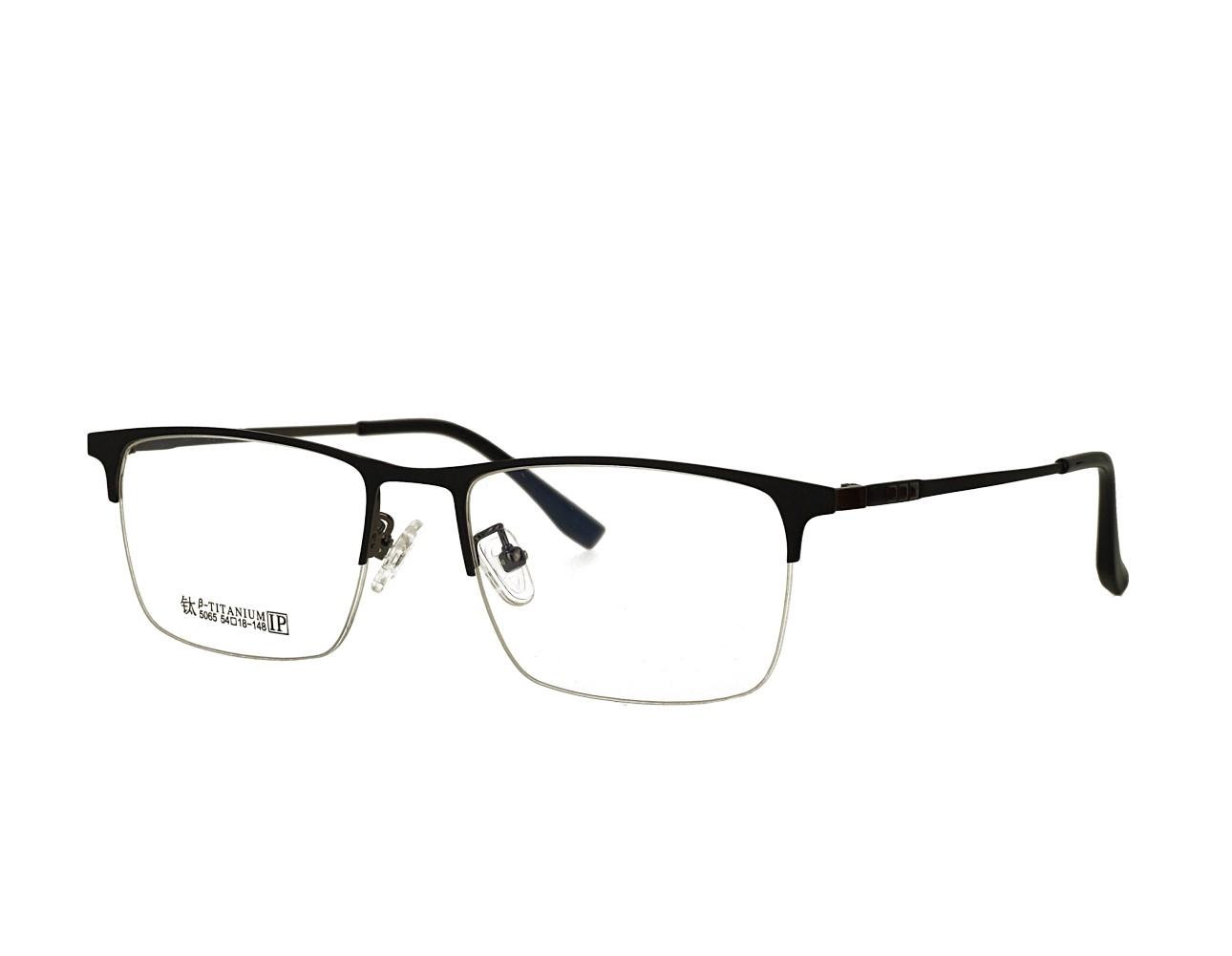54 size Designer Half Rim Optical frame Stainless Steal Eyeglasses Manufacturer