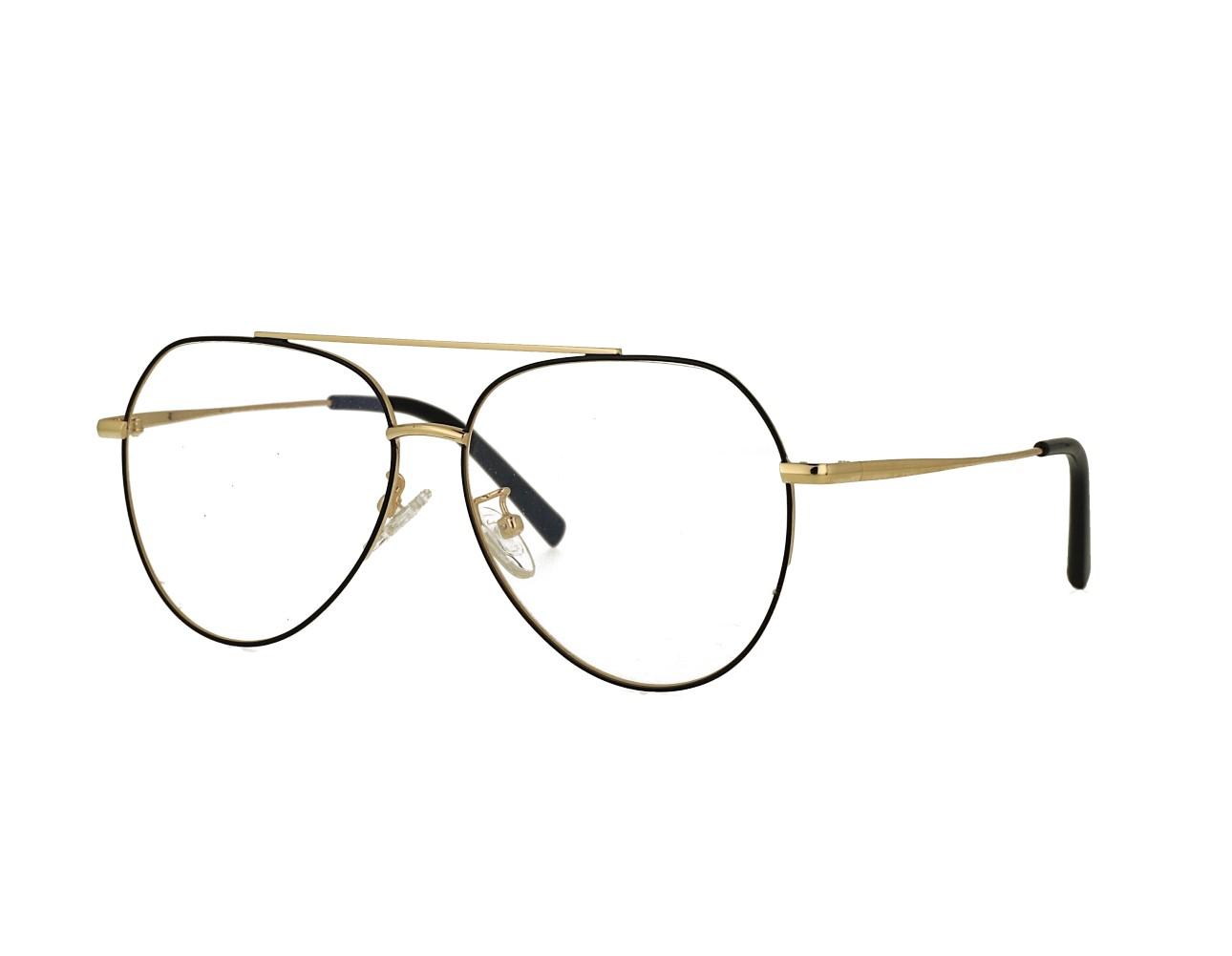 55 size Unisex Aviator Eyewear Pilot Optical frame Vintage Eyeglasses