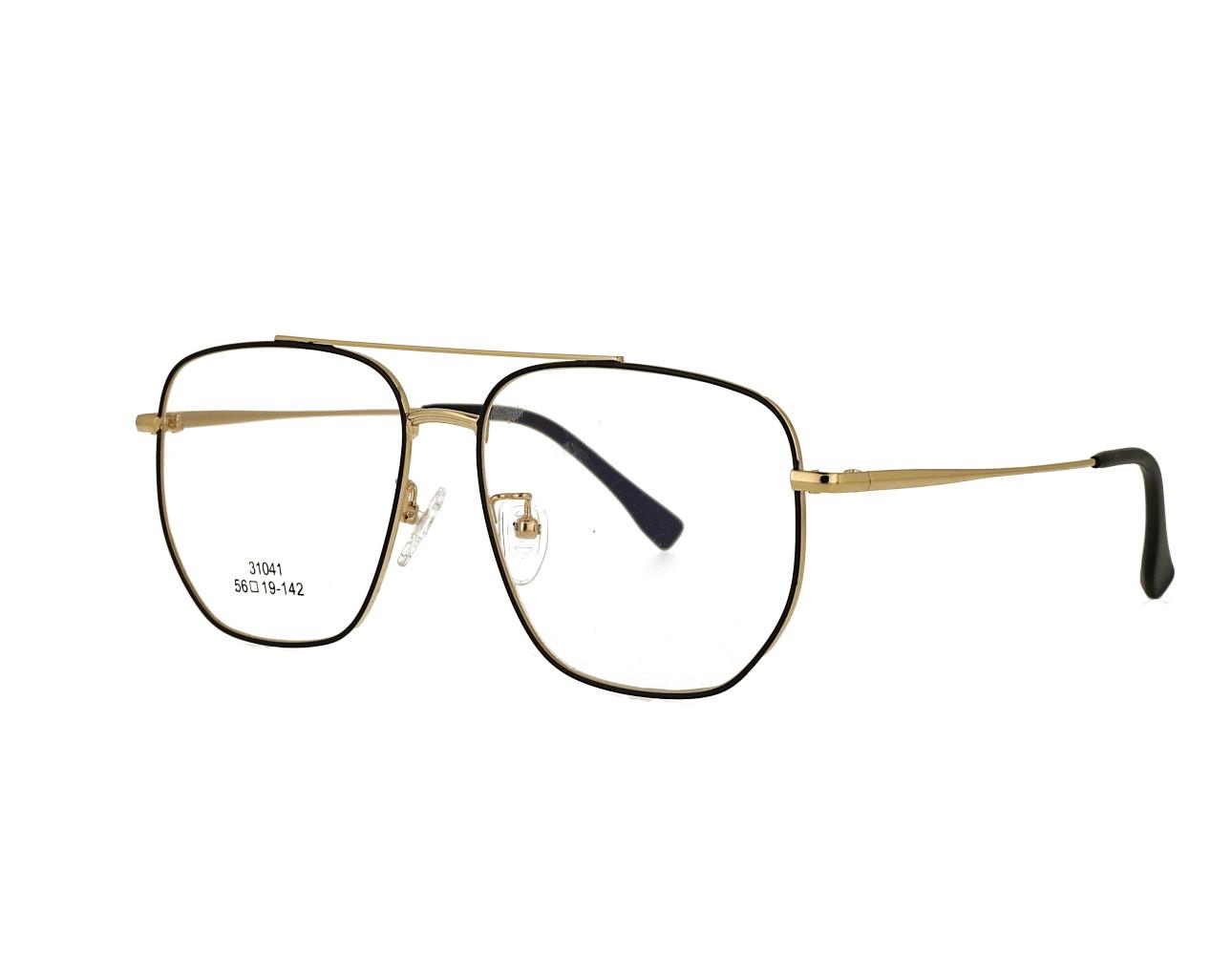 56 Size Unisex Aviator Eyewear Pilot Optical frame Vintage Eyeglasses