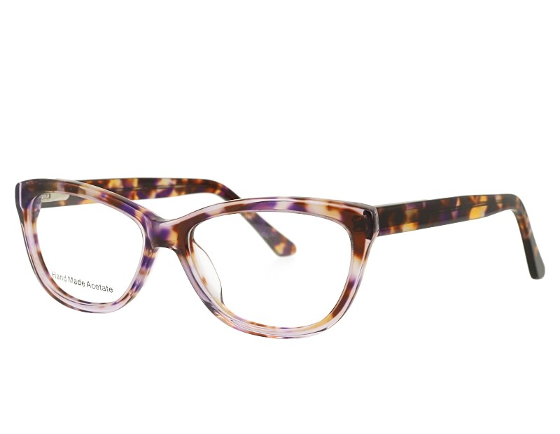 Acetate Cat eye Woman's Optical Frame