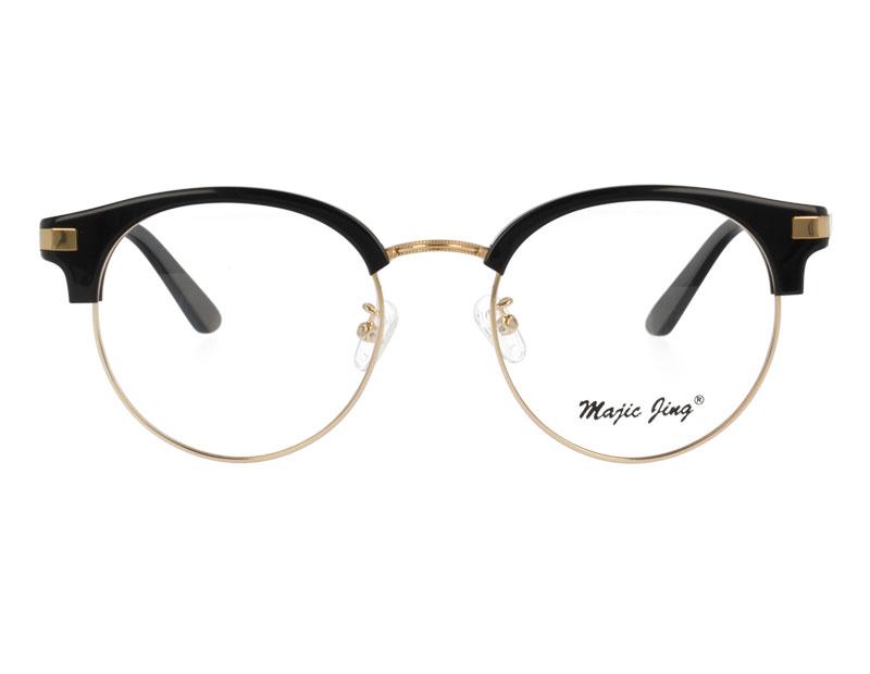 Acetate Stainless Steel Eyewear Combination Optical Frame