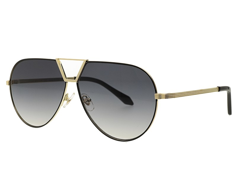 Aviator Metal Gradient UV400 Sunglasses