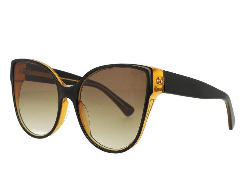 Big Cat Eye Acetate Sunglasses