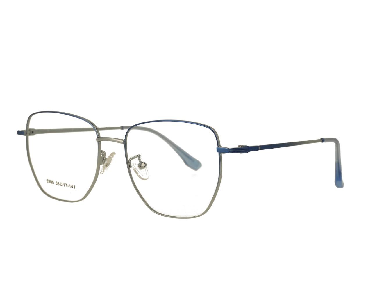 53 Size Big Designer Optical frame Stainless Steal Eyeglasses Woman Eyewear