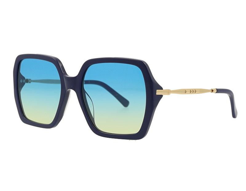 Big Size Acetate Frame with CR39 Ocean CR39 Lens Sunglasses