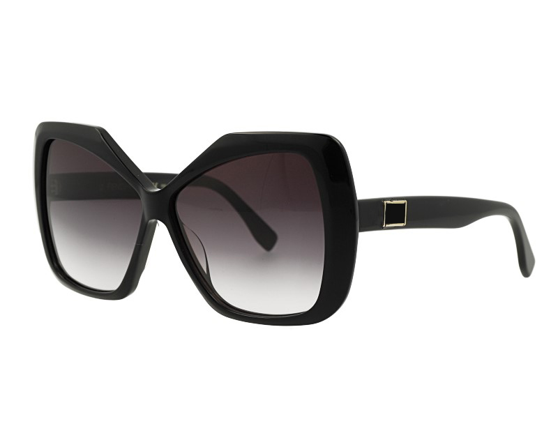 Butterfly Shape Acetate Womans Polarized Sunglasses
