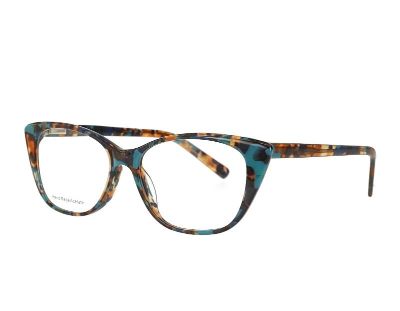 Cat eye Acetate Optical Eyewear with Spring hinge