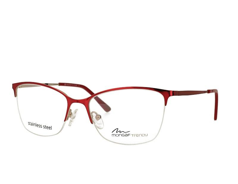 Designer butterfly stainless steel no spring hinge  eyeglasses