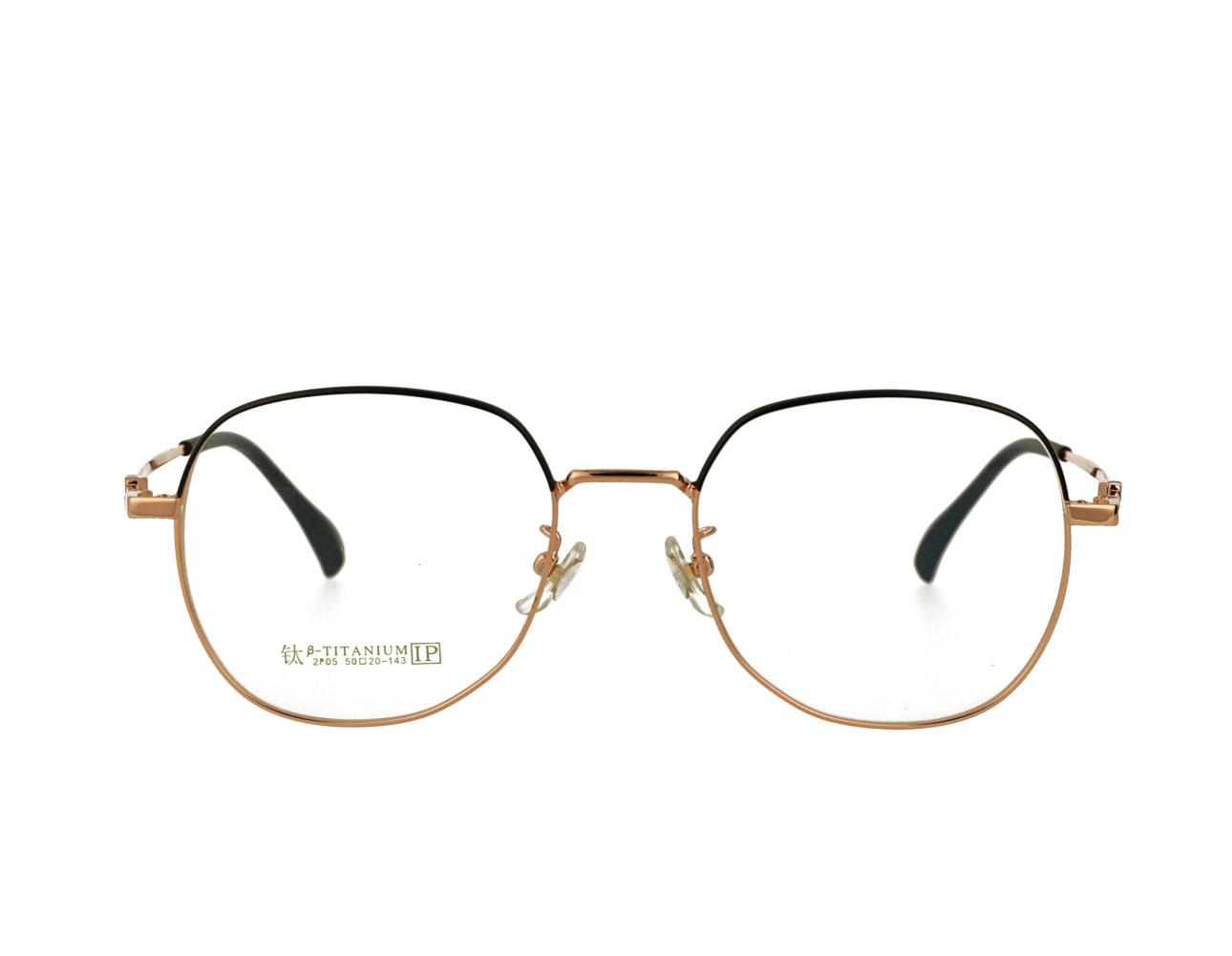 50 Size Fashion Womans Big Frame Woman Full Rim Metal Frame Optical Eyewear