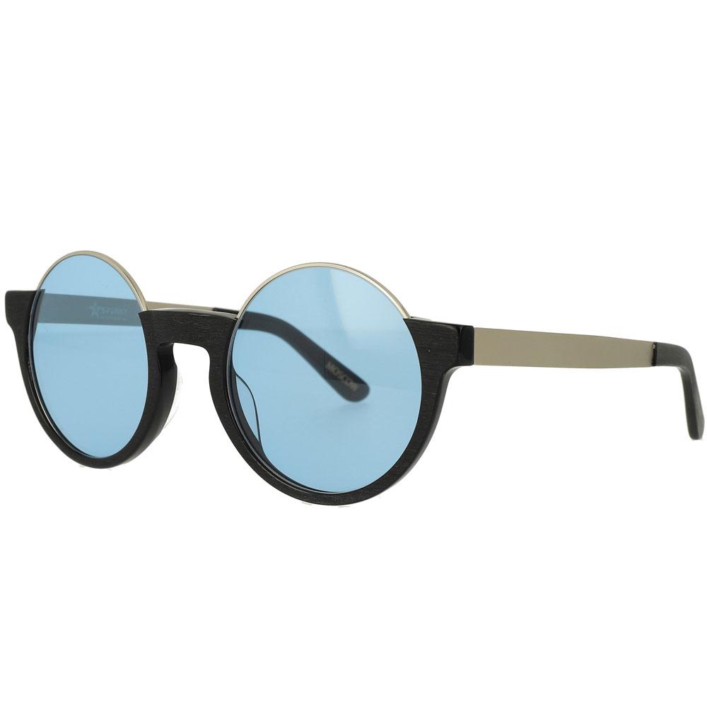 Half Rim Round Special Design Sunglasses