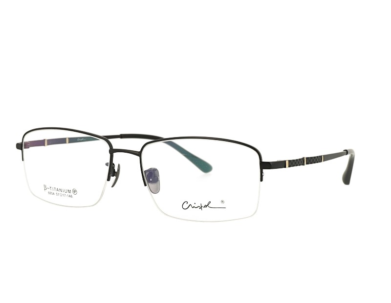 Man's Half Rim Pure Titanium Optical Frame Factory Price