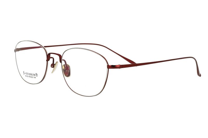 Woman's full rim Pure Titanium Optical Eyeglasses  Frame