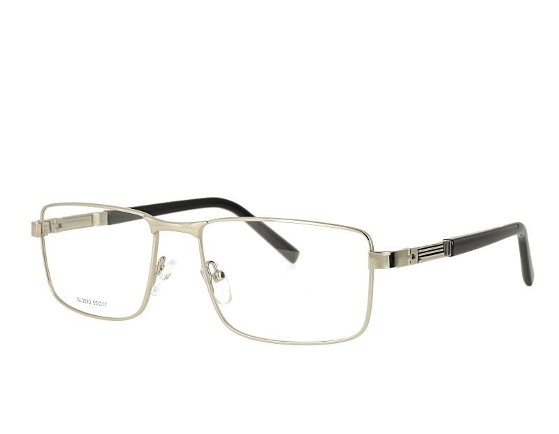Mans full rim metal Optical Eyewear spring hinge