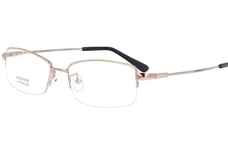 Memory metal eyewear myopia eyeglasses