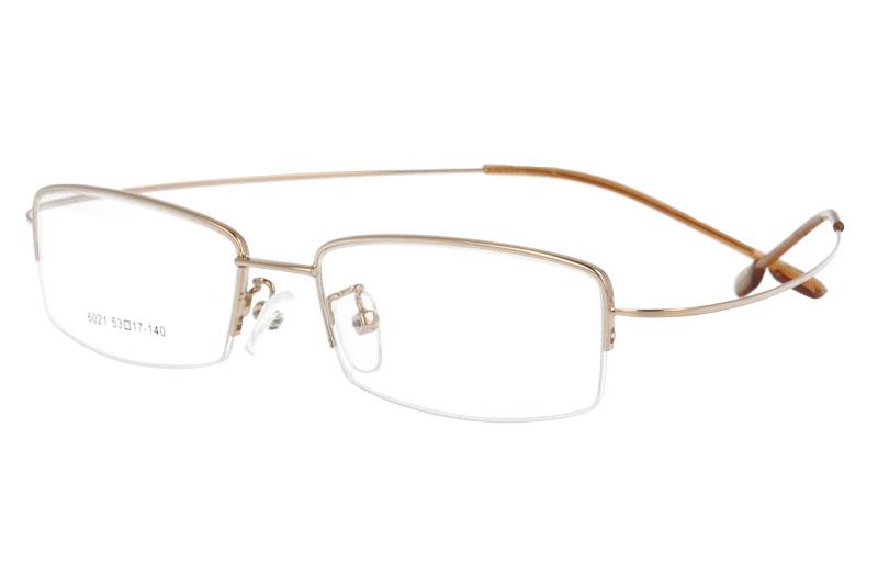 Metal eyeglasses eyewear ultralight optical frames