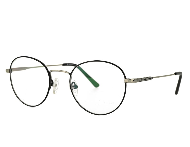 Metal glasses eyewear round prescription spectacles