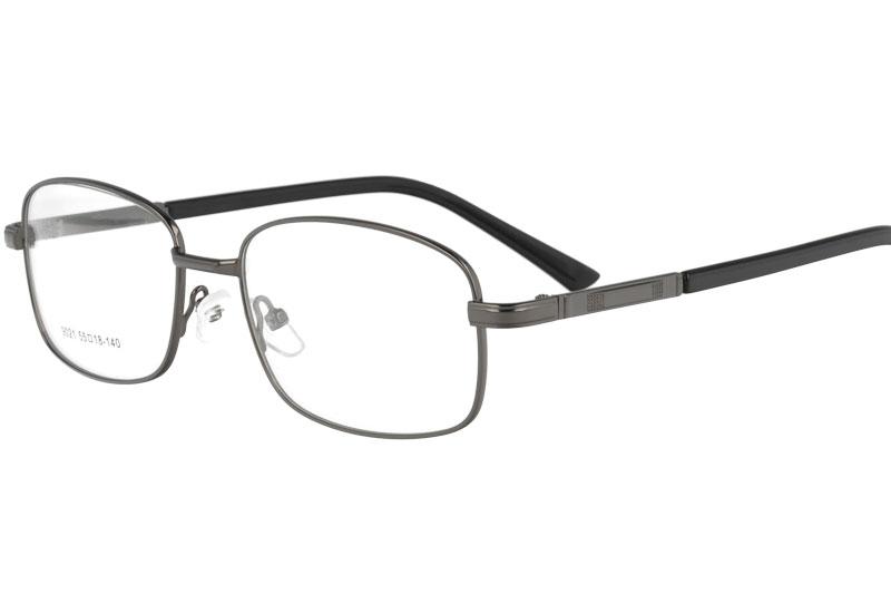 Metal myopia eyewear eyeglasses prescription spectacles