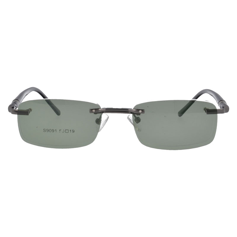 Metal polarized clip on sunglasses Optical frames