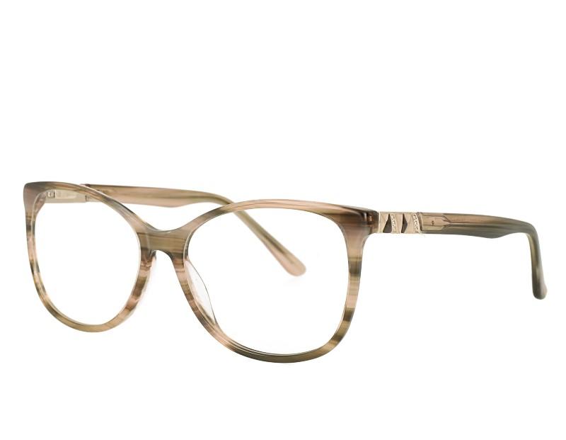 Oval Acetate Optical Frame Glasses