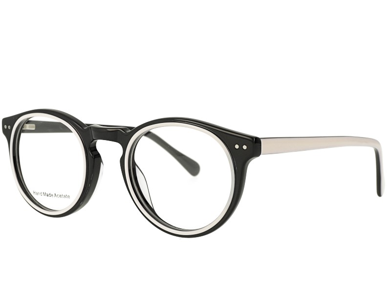 Oval Shape Acetate Optical Eyewear