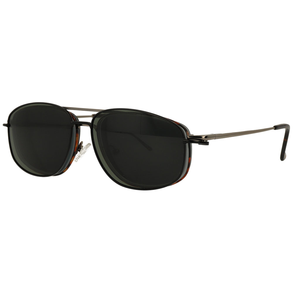 Polarized Clip on Sun Glasses Mens Flip Up Driving Goggles