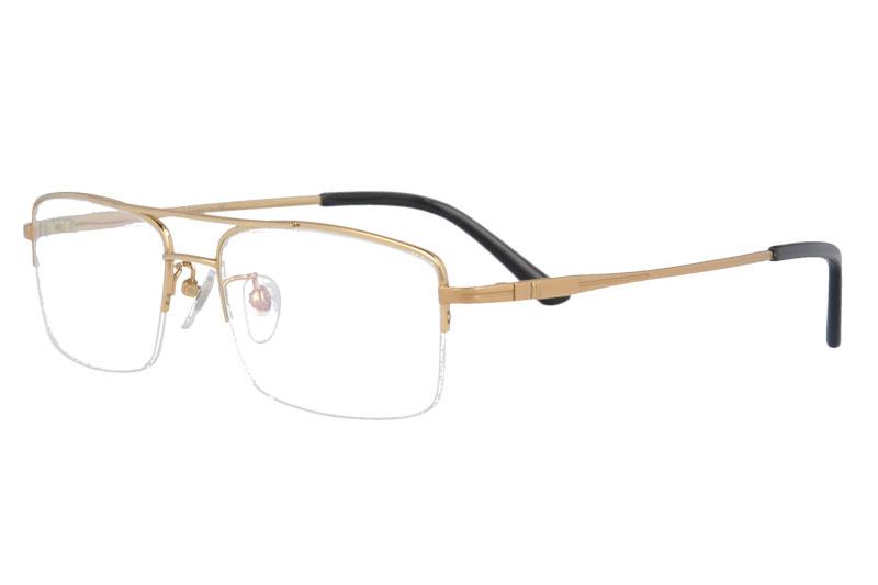 Pure Titanium Glasses Frame Men Ultralight  Prescription Eye Glasses