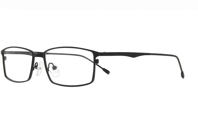 Rectangle Glasses Metal Stainless Steel Optical Frame