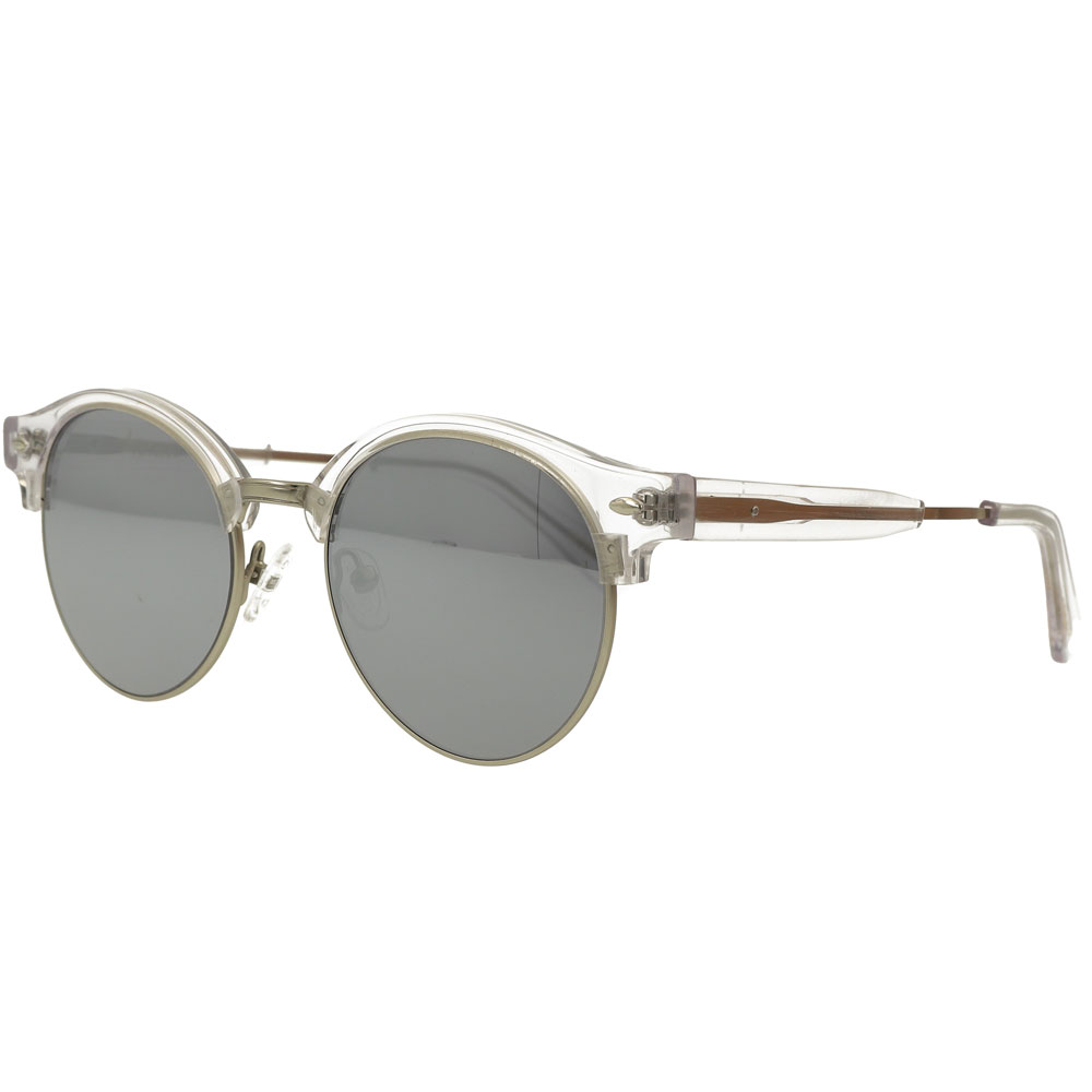 Retro Acetate and metal Combination Eyewear