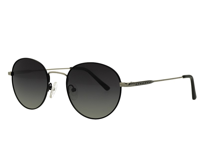 Round Gradient Polarized Sunglasses Unisex Classic Desgin Eyewear