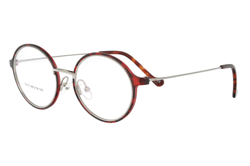 Round TR  eyewear  with metal temple