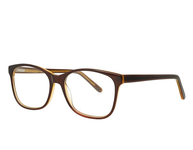 Square Acetate optical eyewear with spring hinge