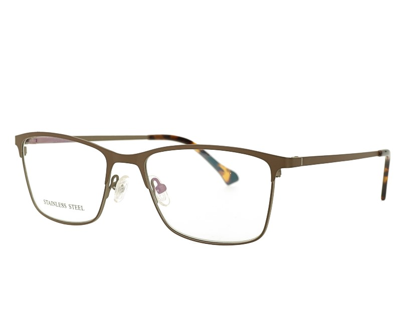 Stainless Steel Rectangle Optical Frame