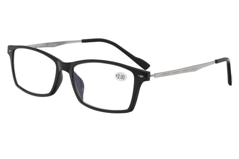 TR anti blue ultralight reading eyewear eyeglasses with ADD :+100~+400