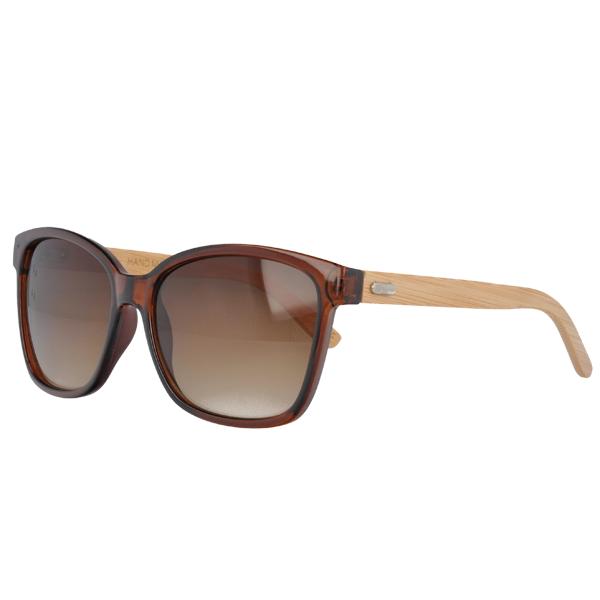 UV400 Slim Sunglasses hand made bamboo Temples China