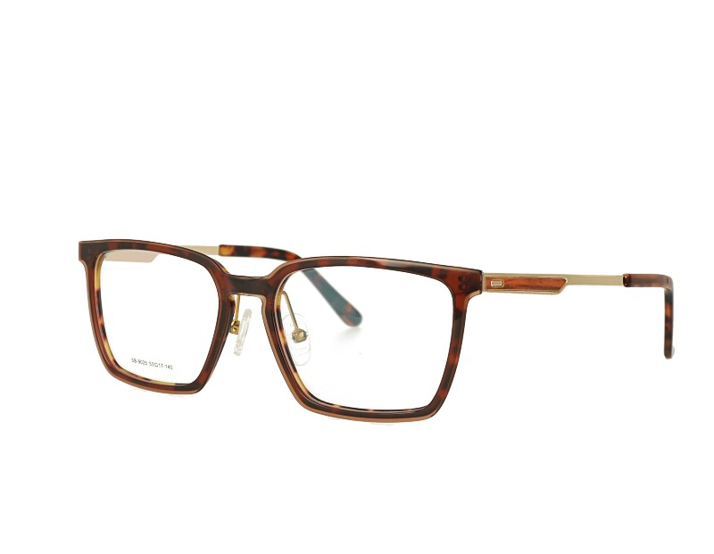 Unisex Square Acetate Optical  Spectacles