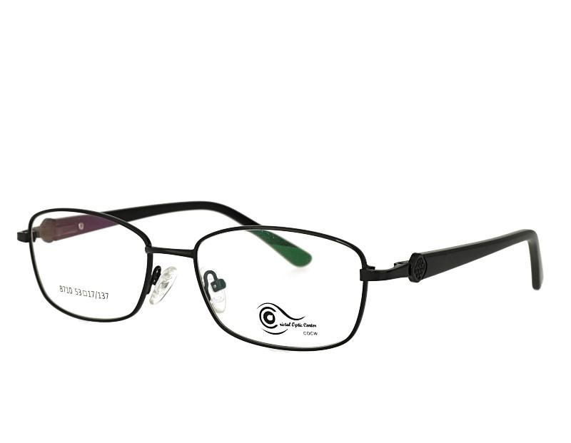 Unisex full rim stainless steel  metal eyeglasses