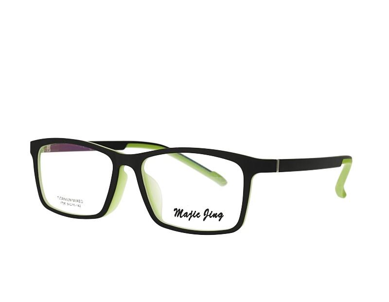 Unisex rectangle TR prescription spectacles myopia eyewear eyeglasses